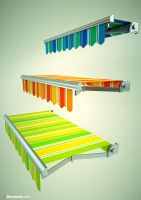 awnings - 3structures.com by Krzychuc4d