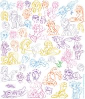So much pony by GlancoJusticar