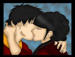 Zuko mai love colored by Fallonkyra