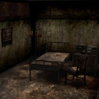 [Silent Hill 3] Alessa bedroom by shprops4xnalara