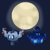 Shiny halloween! by Gyarados10