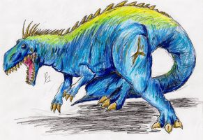 Gorosaurus by hewhowalksdeath