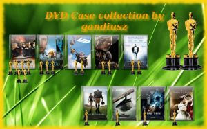 DVD Case icons for 2010 Oscars by gandiusz