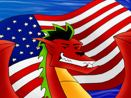 The American Dragon by Mike-Dragon