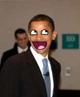 Obama LOLWUT? by 0celluloid-dreamer0