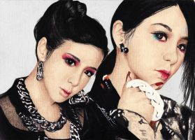 Park BOM ( BOM 2ne1) COME BACK HOME by sasha-pak