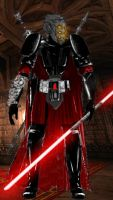 Sith Warrior by Khyron2000