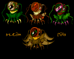 Steam Pal Adoptables 10 points each by sorrowscall