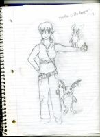 Me as a Pokemon trainer by momo-inari