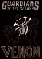 GOTG Venom Color by LeeChandler