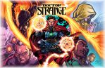 Doctor Strange Clrs W/Title by CdubbArt