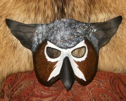 Great Horned Owl Mask by Majiran