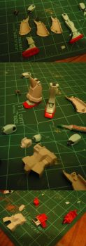 White Dingo Project part 2- GM Cannon WIP 1 by Blayaden