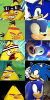 Chuck And Sonic FACE off (REMAKE) by Jeremiekent13