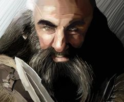 Dwalin by loladrawsthings