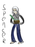 RS:oc spencer by phantomshoujo