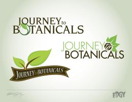 Journey to Botanicals Logo by witnessGFX