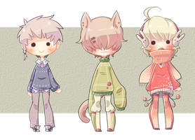 [Adopts] Sweater Adopt Auction - CLOSED by banANNUmon