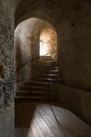 Dover Castle Staircase by parallel-pam
