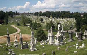 CaC - Cathedral Cemetery by seeker-of-revelation