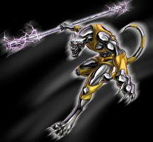 The metal panther-final by J-C