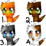 Adoptables~!!! by DarkAngel643