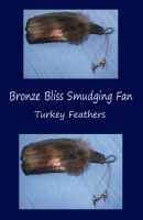 Bronze Bliss Smudging Fan by SilverGryphon8