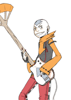 Rock Star Aang by BBH