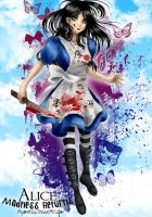 Alice Madness Returns by Aiyumerita