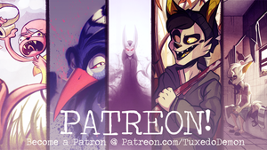 Patreon. by TuxedoDemon