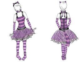Cheshire Cat Costume design by Sylviasama