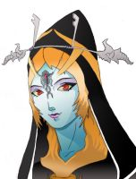 Midna: True Form by Rainemaster