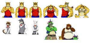 Morenatsu Sprite Editing by Korumuru