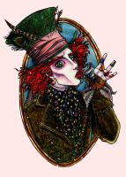 The Mad hatter by kyuuketsuki-doll
