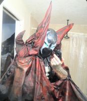 SPAWN COSPLAY WIP by symbiote-x