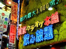 Tokyo 2009: Neon City by Meagan-Marie