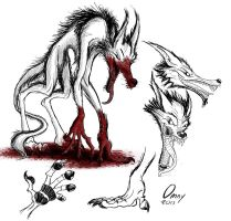 Gangly Lycanthrope by Omny87