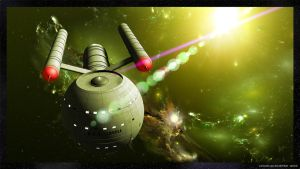 TOS USS Lovell Green by unusualsuspex