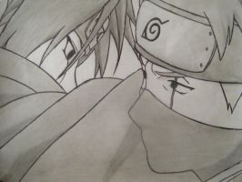 itachi vs kakashi by Anime019se