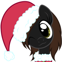 Free Art:Santa Shyness by Oathkeeper21