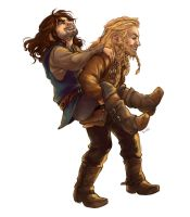 Durin Bros by r-uoi