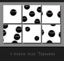 7 100x100 Dice Textures by VacantBeauty
