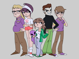 Late Night Cult- Cast (So Far) by blue-pizza123