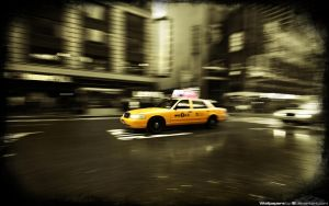 Time Square Taxi 1920x1200 by l8