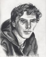 Cumberbatch as himself by Kitt-Otter