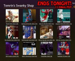 HUGE PORTFOLIO SALE! EXTENDED. Ends tonight by Temrin