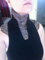 Nyreen Latex Neck Cowl! by sharnuyt