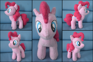 Pinkie Pie 2nd Plushie by GhostOfWar909