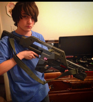 M41A Pulse Rifle Replica by spaceman022