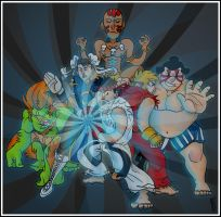 SF Tribute: Hadouken by Albert-Lopez